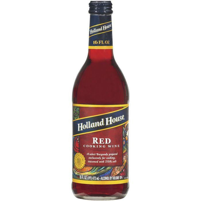 Holland House Red Cooking Wine 16 Fl Oz   (Pack of 6)