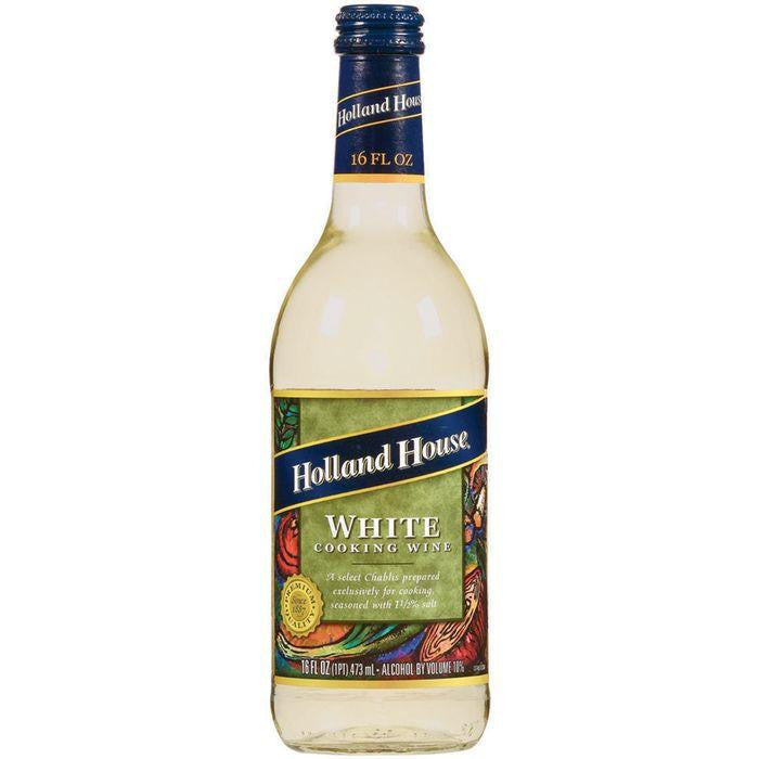 Holland House  White Cooking Wine 16 Oz   (Pack of 6)