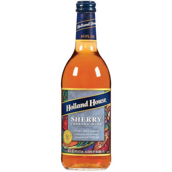 Holland House Sherry Cooking Wine 16 Oz  (Pack of 6)