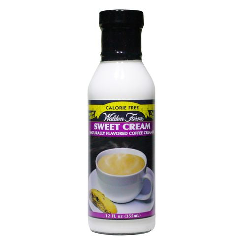 Walden Farms Sweet Cream Coffee Creamer, 12 OZ (Pack of 6)
