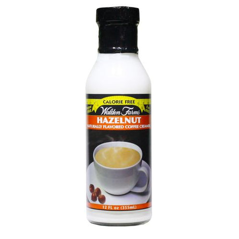 Walden Farms Hazelnut Coffee Creamer, 12 OZ (Pack of 6)