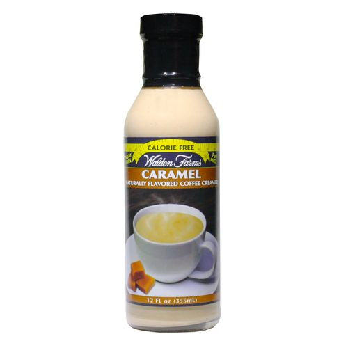 Walden Farms Caramel Coffee Creamer, 12 OZ (Pack of 6)