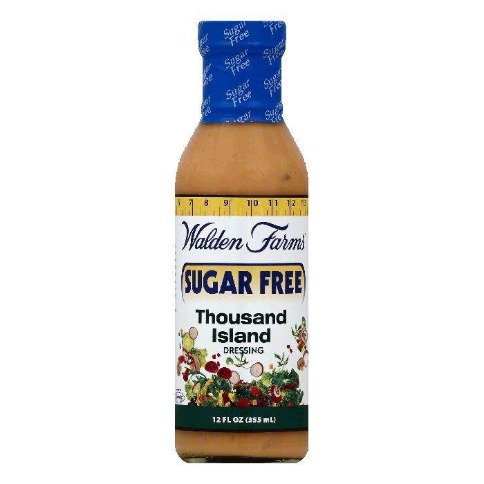 Walden Farms Sugar Free Thousand Island Dressing, 12 OZ (Pack of 6)