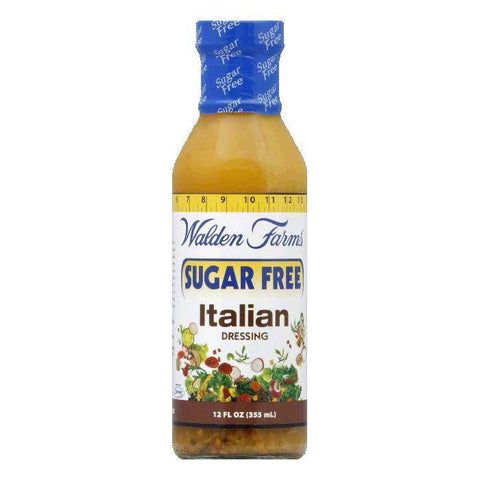 Walden Farms Salad Dressing Italian Sugar Carb Free, 12 OZ (Pack of 6)