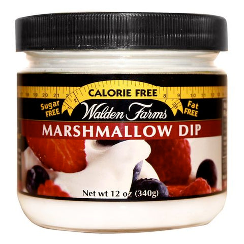 Walden Farms No Calorie Marshmallow Dip, 12 OZ (Pack of 6)