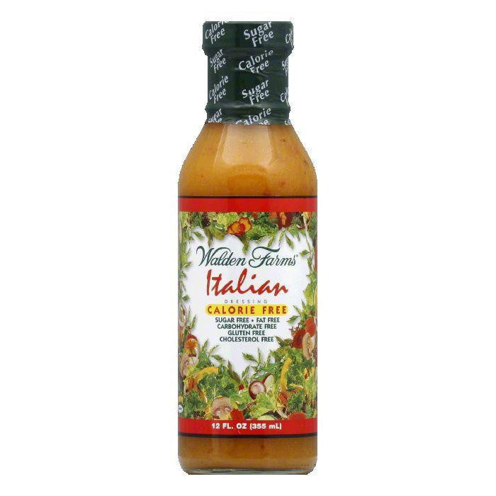Walden Farms Salad Dressing Italian Calorie Free, 12 OZ (Pack of 6)