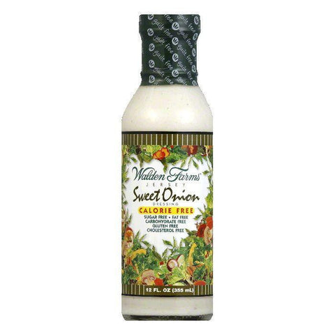 Walden Farms Dressing Sweet Onion, 12 OZ (Pack of 6)