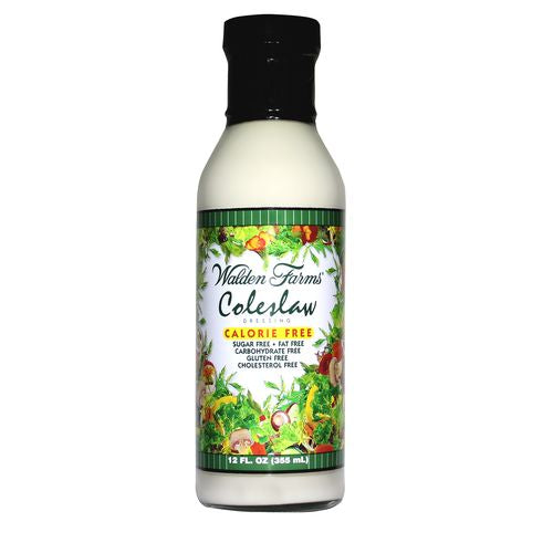 Walden Farms Calorie Free Coleslaw Dressing, 12 OZ (Pack of 6)