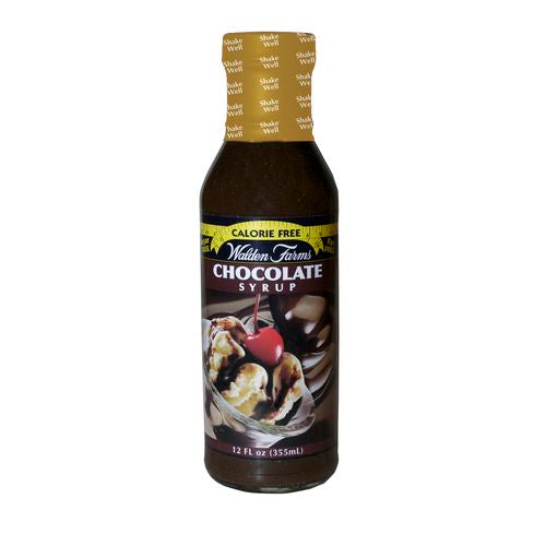 Walden Farms Chocolate Syrup, 12 OZ (Pack of 6)