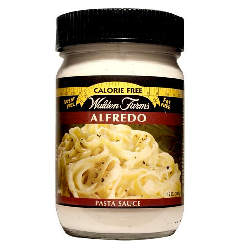 Walden Farms Alfredo Pasta Sauce, 12 OZ (Pack of 6)