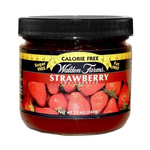 Walden Farms Strawberry Fruit Spread, 12 OZ (Pack of 6)