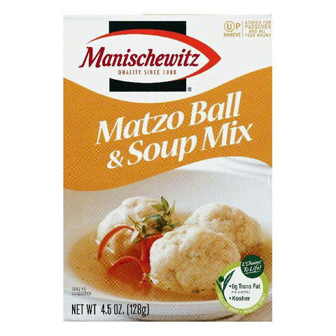 Manischewitz Matzo Ball & Soup Mix, 4.5 OZ (Pack of 12)