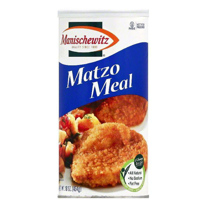 Manischewitz Matzo Meal, 16 OZ (Pack of 12)