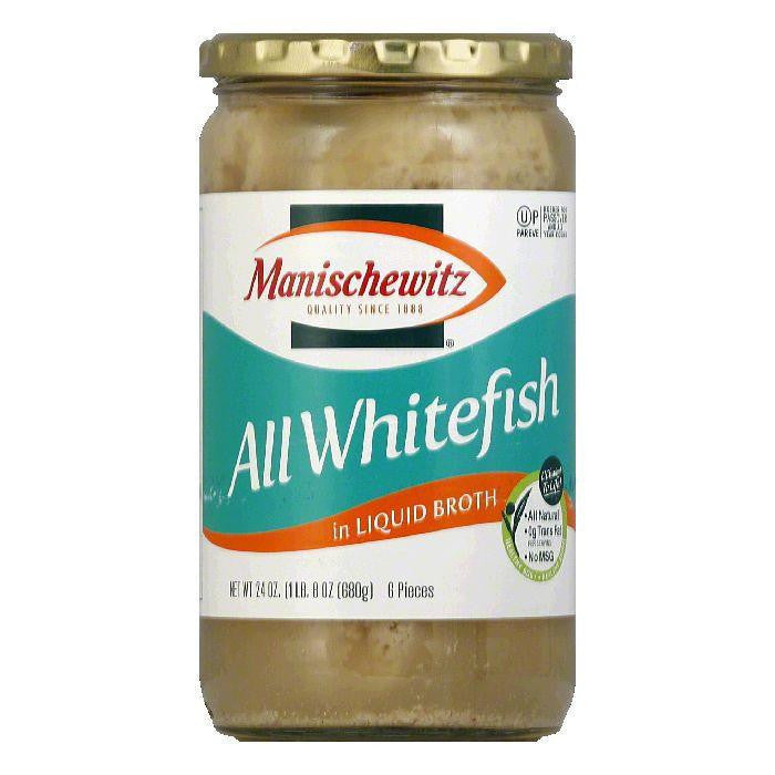 Manischewitz All Whitefish Liquid, 24 OZ (Pack of 6)