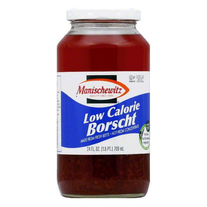 Manischewitz Low Calorie Borscht, 24 OZ (Pack of 12)