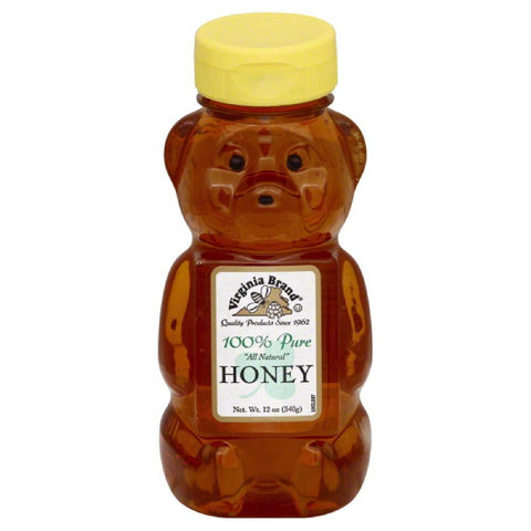 Virginia Brand 100% Pure Honey, 12 Oz (Pack of 12)