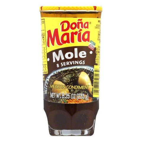 Dona Maria Mole Sauce, 8.25 OZ (Pack of 12)