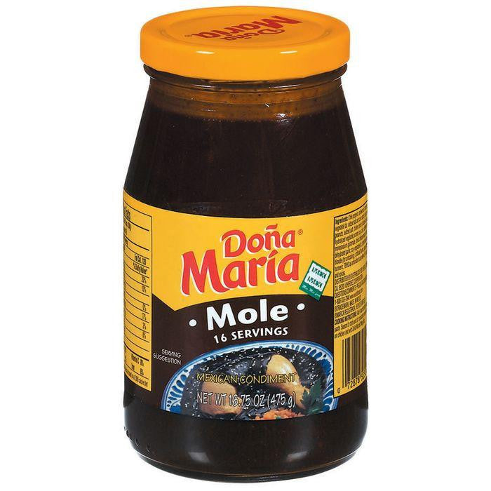 Dona Maria Mole Sauce Mexi Condiment 16.75 Oz (Pack of 12)