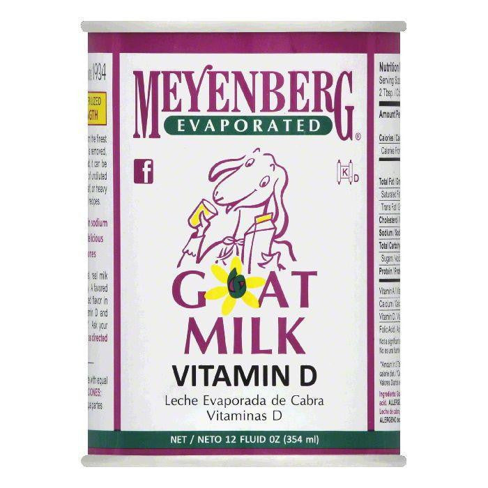Meyenberg Evaporated Goat Milk, 12 OZ (Pack of 12)