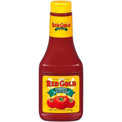 Red Gold Tomato Ketchup 14 Oz (Pack of 24)