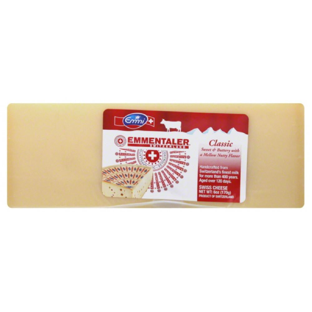 Emmi Classic Swiss Cheese, 6 Oz (Pack of 16)