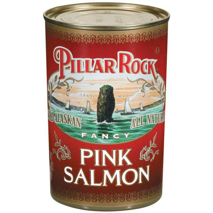 Pillar Rock Fancy Wild Alaskan Pink Salmon 14.75 Oz (Pack of 24)