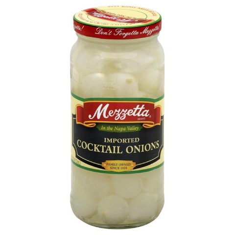Mezzetta Imported Cocktail Onions, 16 Oz (Pack of 6)