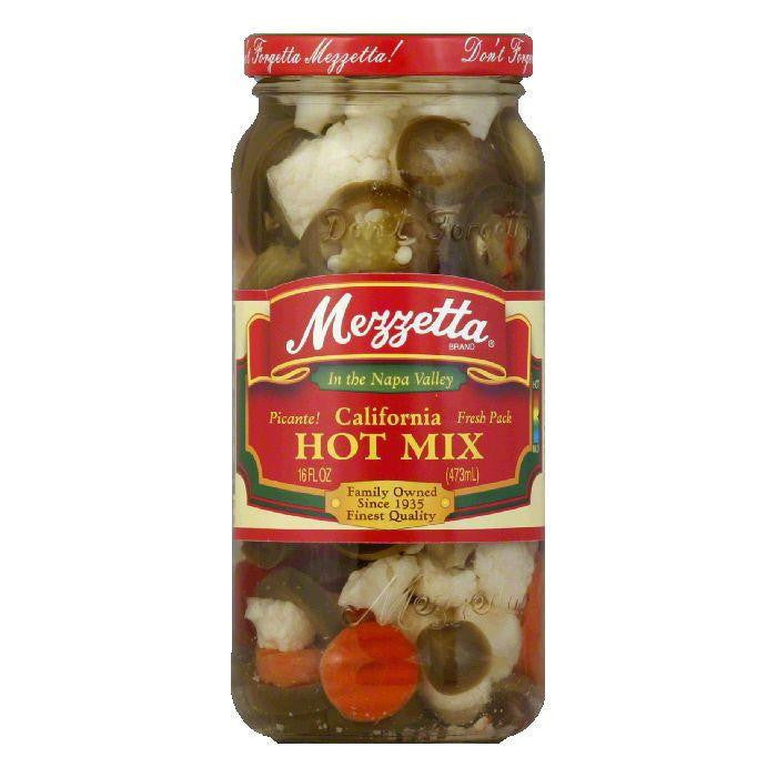Mezzetta Mix Vegetables Hot, 16 OZ (Pack of 6)