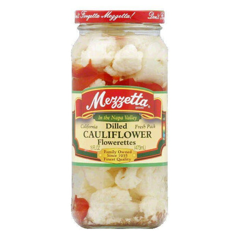 Mezzetta Cauliflower Dilled, 16 OZ (Pack of 6)