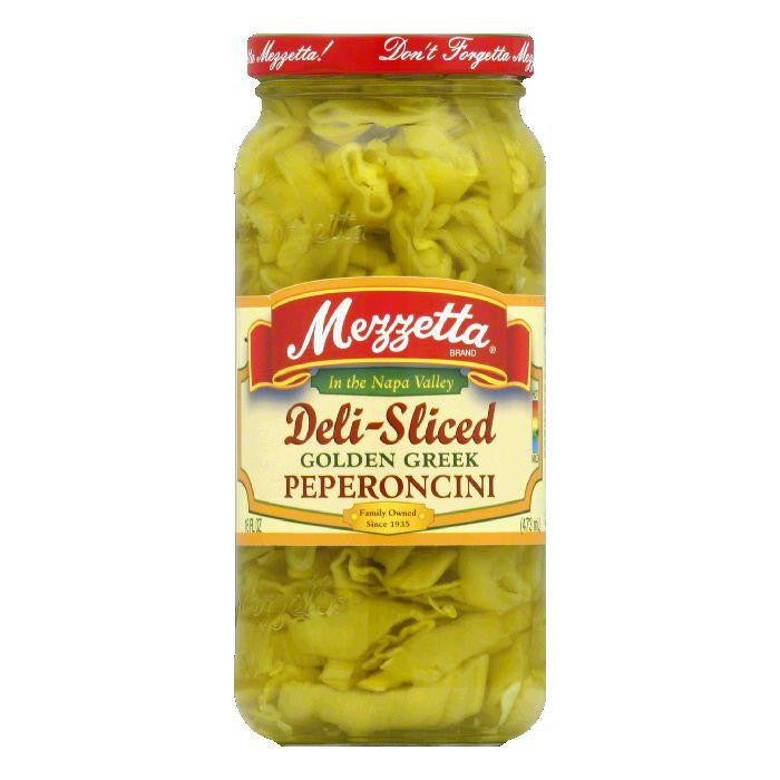 Mezzetta Peperoncini Sliced Golden, 16 OZ (Pack of 6)