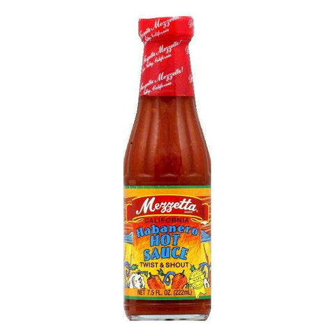 Mezzetta Hot Sauce Habanero, 7.5 OZ (Pack of 12)