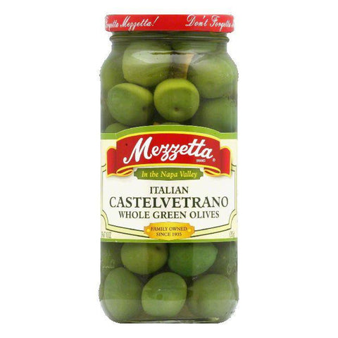 Mezzetta Castelvetrano Olives, 10 OZ (Pack of 6)