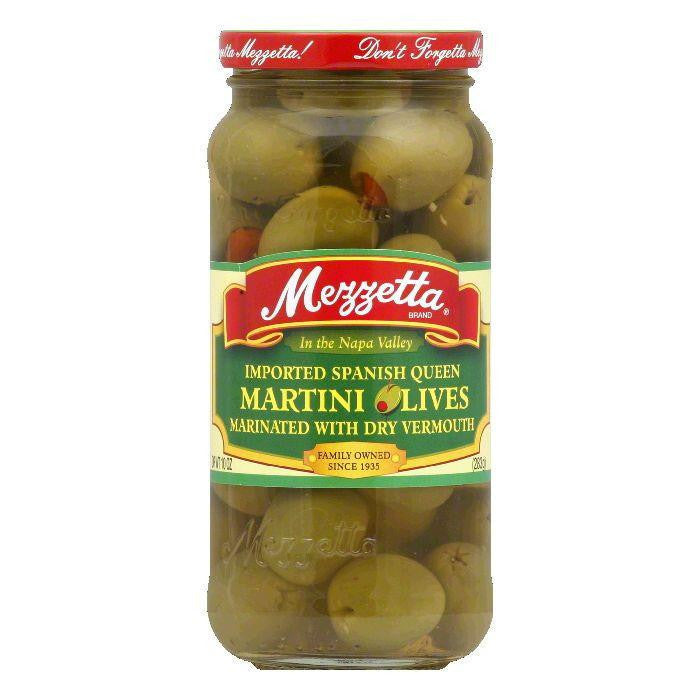 Mezzetta Olives Martini, 10 OZ (Pack of 6)