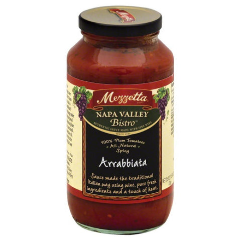 Mezzetta Napa Valley Homemade Spicy Marinara Sauce, 25 Oz (Pack of 6)