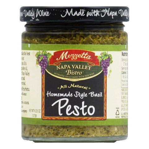 Mezzetta Bistro Italian Homemade Style Pesto, 6.25 OZ (Pack of 6)