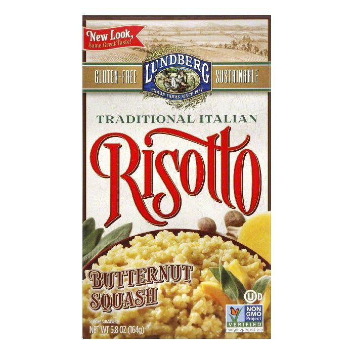 Lundberg Gluten Free Risotto Butternut Squash Eco-Farmed, 5.8 OZ (Pack of 6)