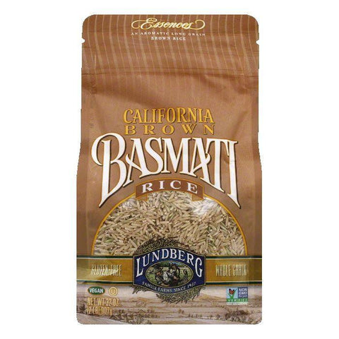 Lundberg Gluten Free Rice Eco-Farmed California Basmati Brown, 32 OZ (Pack of 6)