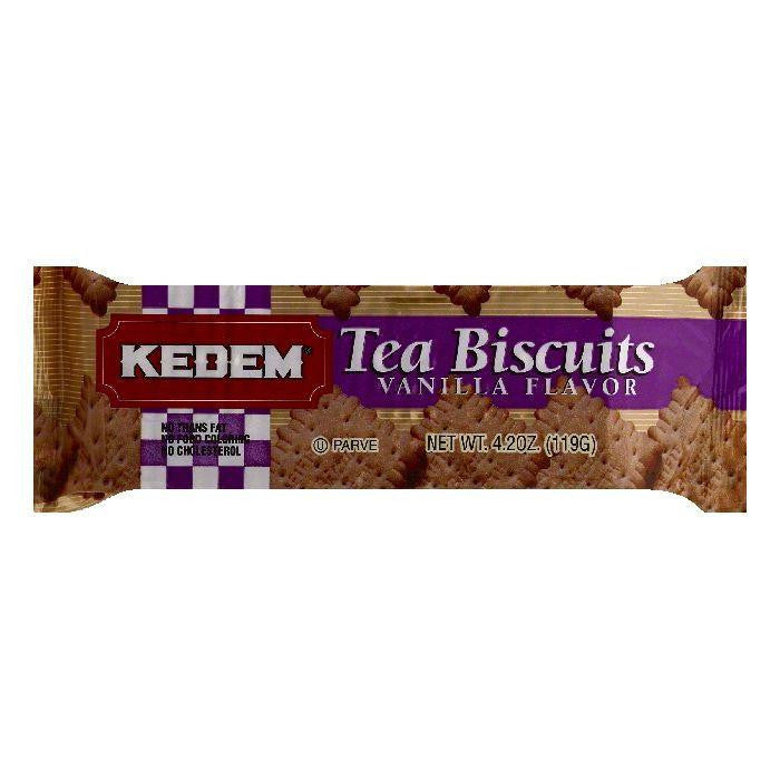 Kedem Vanilla Flavor Tea Biscuits, 4.2 OZ (Pack of 24)