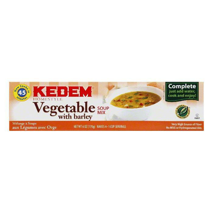 Kedem Vegetable Soup Mix, 6 OZ (Pack of 24)