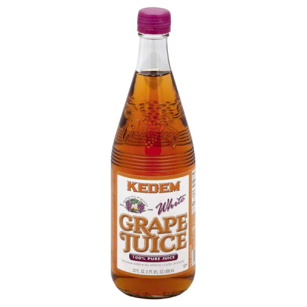 Kedem White Grape Pure 100% Juice, 22 Fo (Pack of 6)