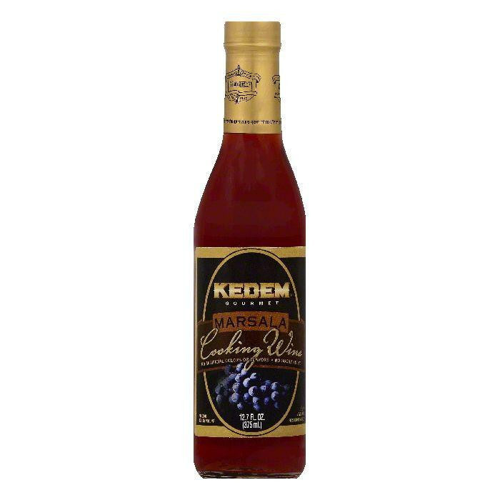 Kedem Marsala Cooking Wine, 12.7 OZ (Pack of 12)