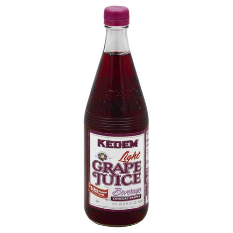 Kedem Light Grape Juice Beverage, 22 Oz (Pack of 12)