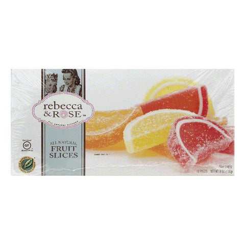 Rebecca & Rose Fruit Slices, 12 ea (Pack of 12)