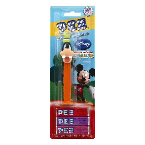 PEZ Disney Mickey Mouse Clubhouse Candy & Dispenser, 1 ea (Pack of 6)