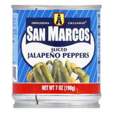 San Marcos Sliced Jalapeno Peppers, 7 OZ (Pack of 12)