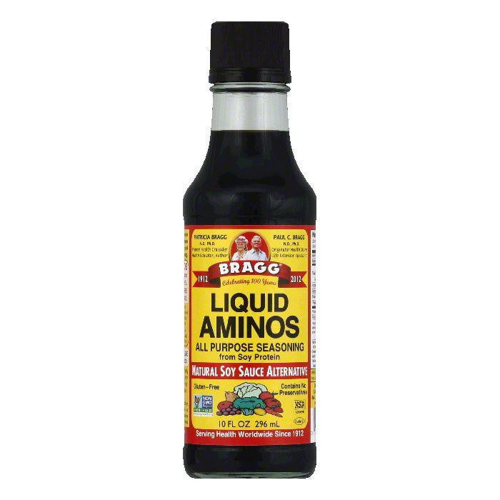 Bragg Liquid Aminos All Purpose Seasoning, 10 Oz (Pack of 12)