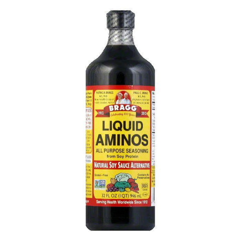 Bragg Liquid Aminos, 32 OZ (Pack of 12)
