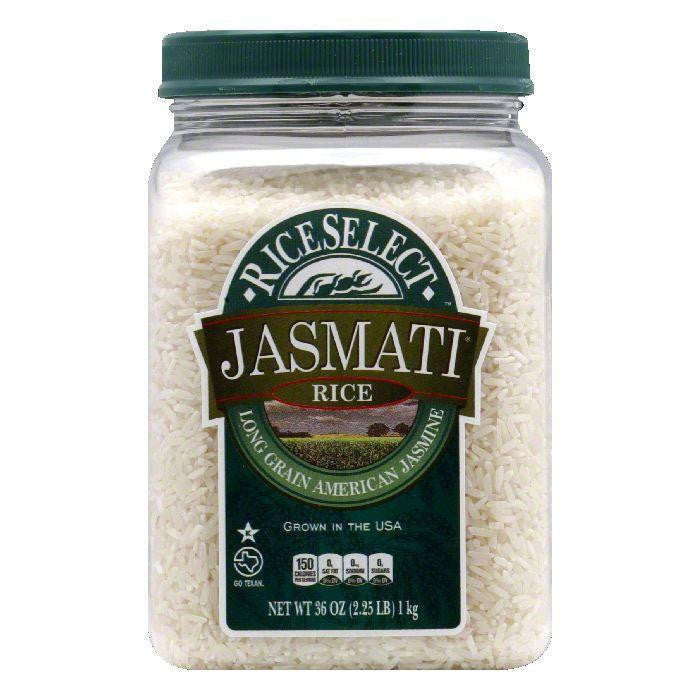 Rice Select Jasmati Rice Jar, 32 OZ (Pack of 4)