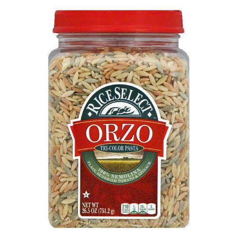 Rice Select Orzo Tri-Color, 26.5 OZ (Pack of 4)