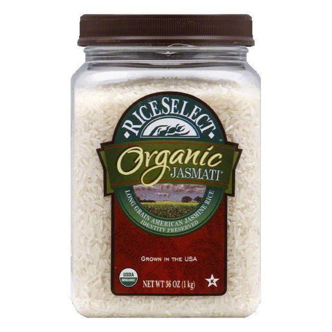 Rice Select Jasmati Organic Rice, 32 OZ (Pack of 4)